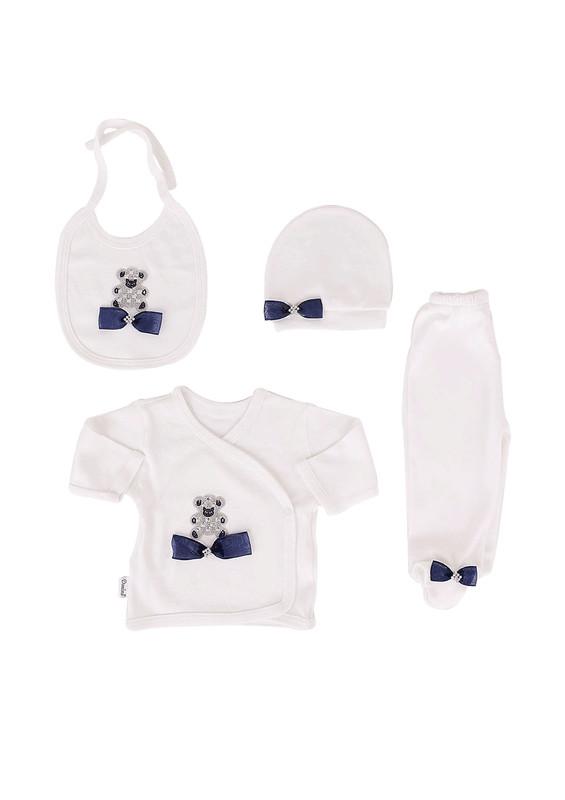 SİMİSSO - Simisso Baby Zıbın Seti 11901 | Beyaz