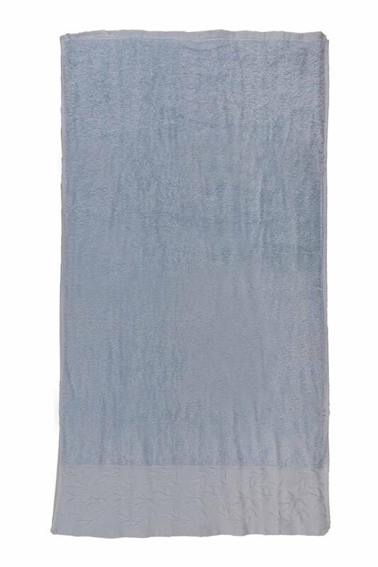 HAZANGÜLÜ - Hazangülü Tuana El ve Yüz Havlusu 50x90 cm | Mavi