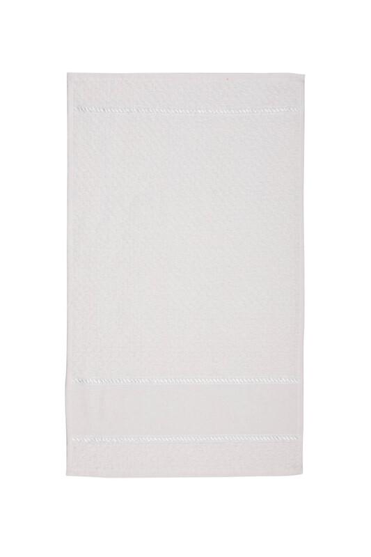 SİMİSSO - El ve Yüz Havlusu 40*70 cm Beyaz