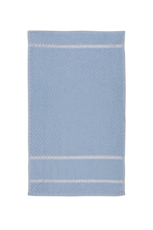 SİMİSSO - El ve Yüz Havlusu 40*70 cm Mavi