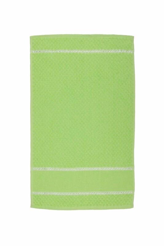 SİMİSSO - El ve Yüz Havlusu 40*70 cm Fıstık Yeşili